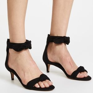 NEW Rebecca Minkoff Kaley Suede Kitten Heels Black